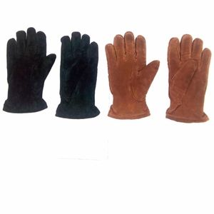 Isotoner Thinsulate  Brown/Black Leather Glove L